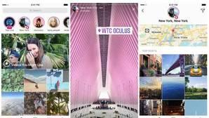 Los «hashtags» y las localizaciones llegan a Instagram Stories