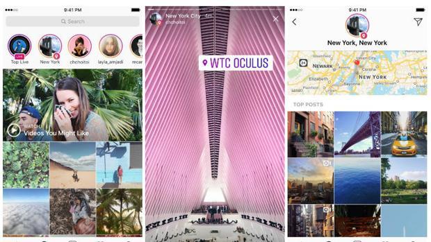 Instagram Stories pone en marcha historias de «hashtags» y de localización