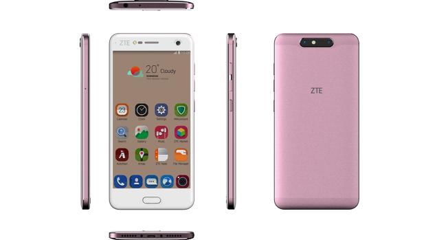ZTE amplía su gama Blade de «smartphones» con la versión rosa de V8 y el nuevo V8 Lite