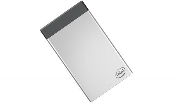 Intel Compute Card tien el tamaño de una tarjeta de crédito