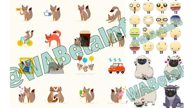 WhatsApp incorporará los stickers como Facebook