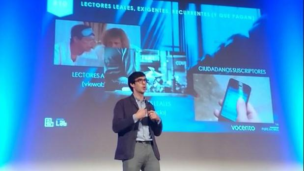 Borja Bergareche apuesta por una combinación de ingresos por publicidad con el pago por contenidos
