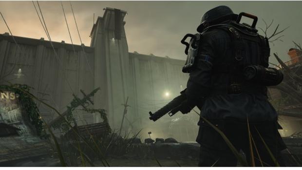 Captura del videojuego «Wolfenstein: The New Colossus»