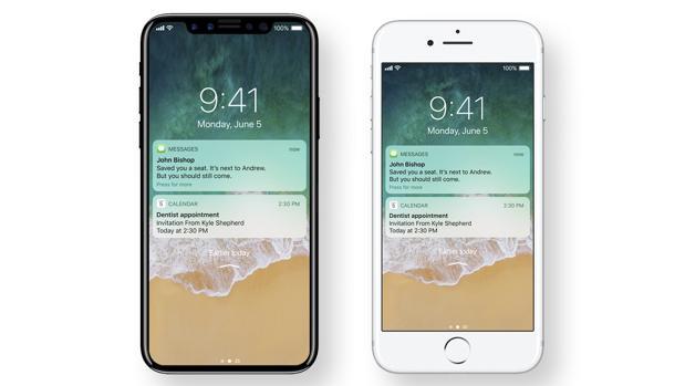 iPhone 8: ¿tendrá una pantalla sin marco?