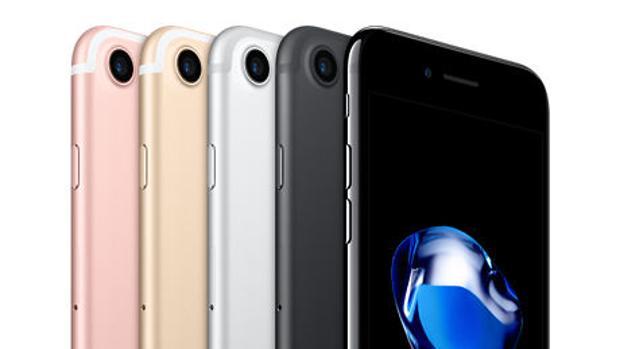 Detalle del iPhone 7, hasta la fecha el modelo más actual