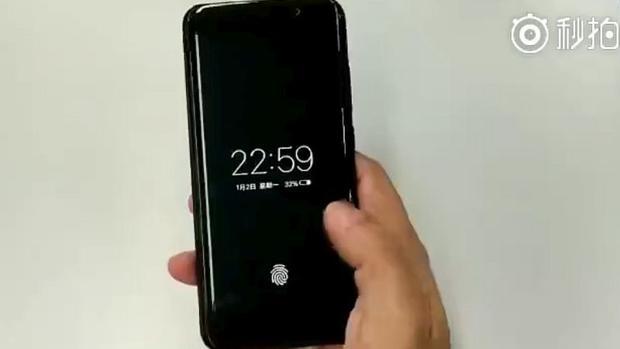 Vivo se adelanta a Apple y presenta el primer móvil con lector de huellas en la pantalla
