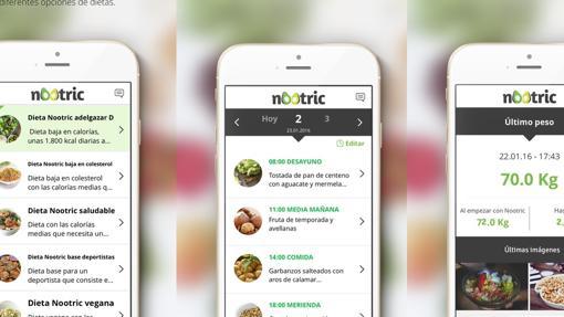 Aplicaciones para adelgazar y hacer dieta