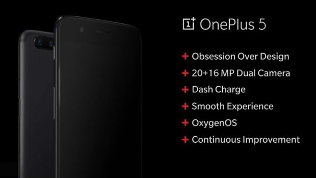 OnePlus 5: un «caramelo» chino que se inspira en el iPhone 7 Plus
