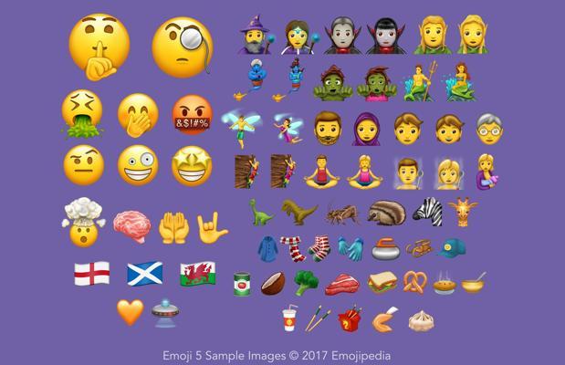 Los nuevos 56 «emojis» que muy pronto compartirás por WhatsApp, Facebook o Twitter