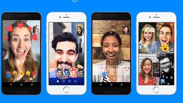 Facebook Messenger introduce nuevos filtros y máscaras en sus videollamadas