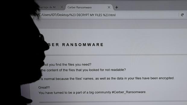 Imagen de archivo de un ataque «ransomware»: infecta el ordenador, secuestrándolo, y exige un rescate a cambio