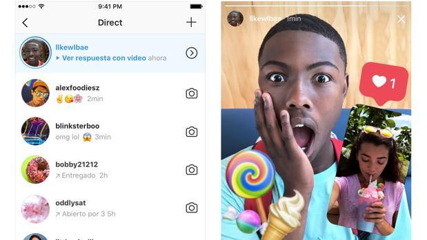 Llegan las respuestas con foto o vídeo a las Instagram Stories