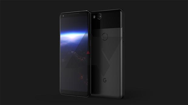 Captura del posible diseño final del nuevo móvil de Google