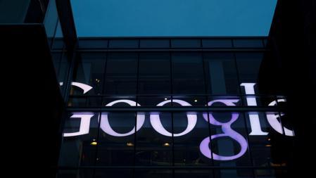 Fachada con el logotipo de Google