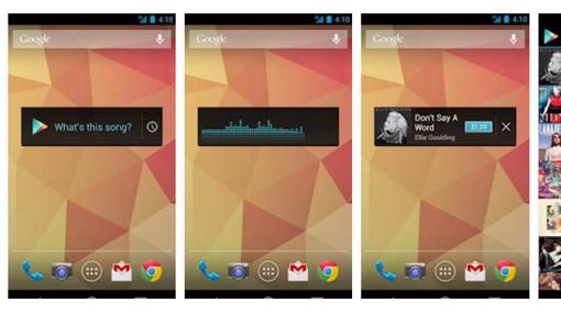 Captura de pantalla de Sound Search