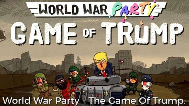 «World War Party: Game of Trump», el videojuego en el que puedes matar al presidente de Estados Unidos
