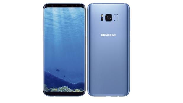 Azul coral en Samsung