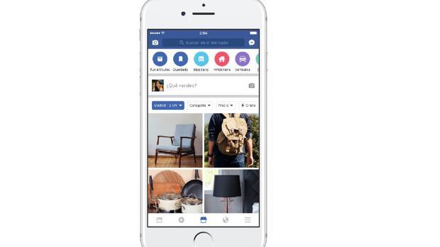 Llega Marketplace, el «Wallapop» de Facebook