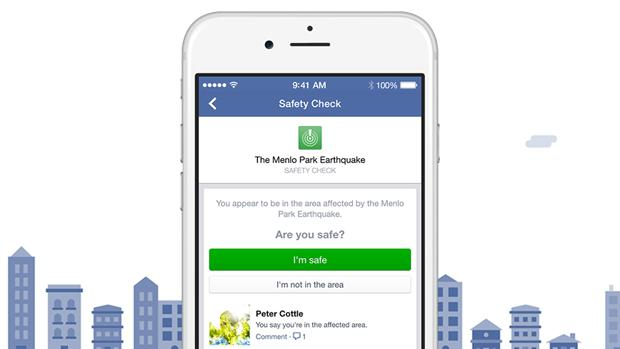 Facebook estrena una pestaña permanente del servicio de emergencia «Safety Check»