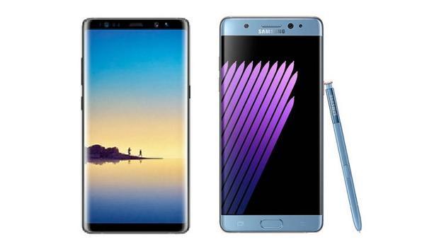 Galaxy Note 8 vs Galaxy Note 7: ¿qué diferencias hay?