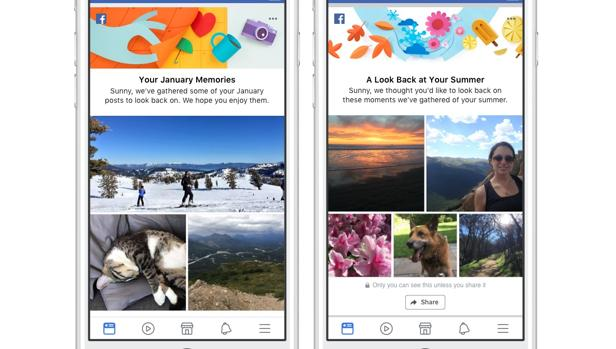Facebook renueva la fábrica de recuerdos de los usuarios