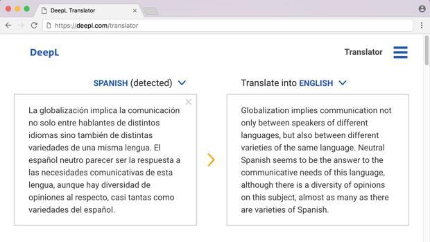 ¿Cuál es el mejor servicio de traducción online? DeepL quiere desterrar a Google