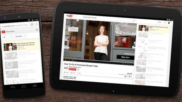 Lavado de cara para YouTube: más «smart», multipantalla y táctil