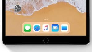 Dock del iPad en iOS 11
