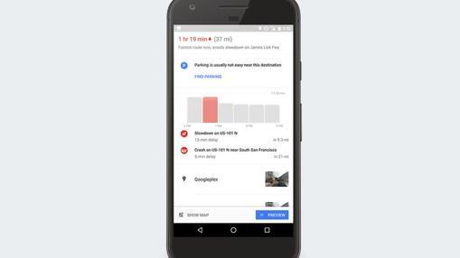 Ocupación por horas desde Google Maps