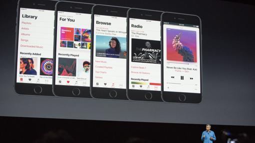 Diseño estrenado el pasado año en iOS 10