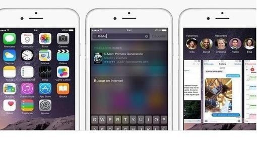 Detalle de iOS 8