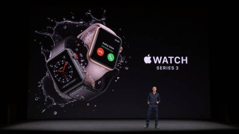 Así es el nuevo Apple Watch Series 3: conectividad independiente y más servicios de salud