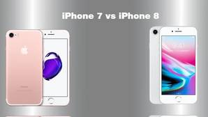 Comparativa del iPhone 7 y iPhone 8