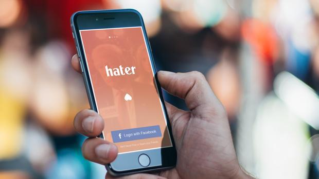 «Hater», el «Tinder» para ligar con personas que odian lo mismo que tú