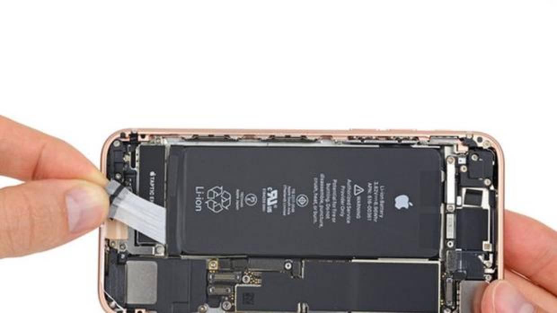 Despiece del iPhone 8 por iFixit