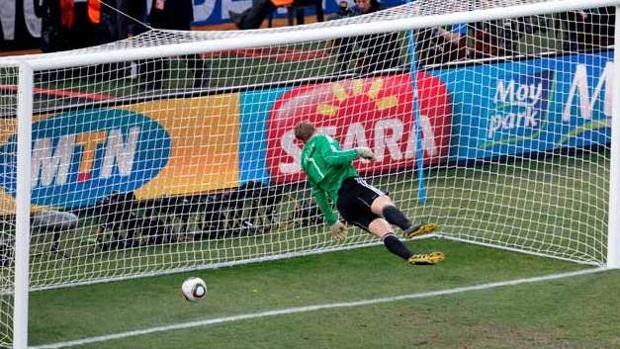 Gol fantasma con Lampard y Neuer en el pasado Mundial de Sudáfrica