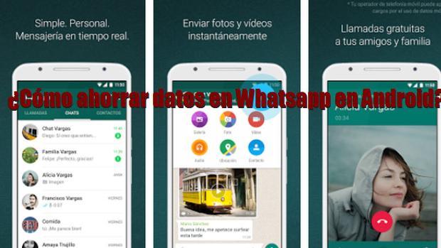 ¿Cómo ahorrar datos en Whatsapp?