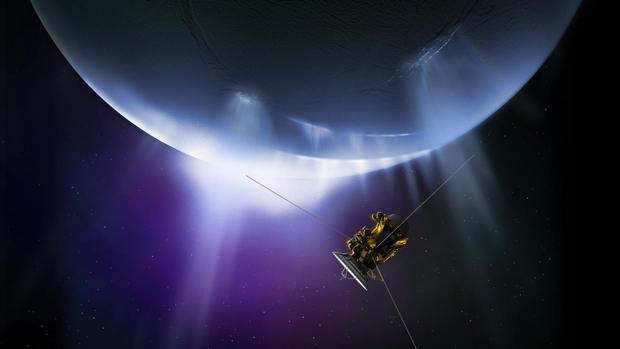Google Maps ha empleado los datos recopilados por la NASA mediante la sonda espacial Cassini para hacer el mapa de Encélado, uno de los satélites de Saturno