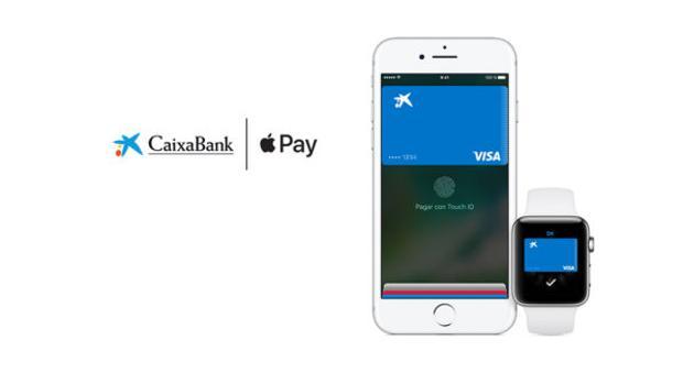 CaixaBank se suma al sistema de pago móvil Apple Pay