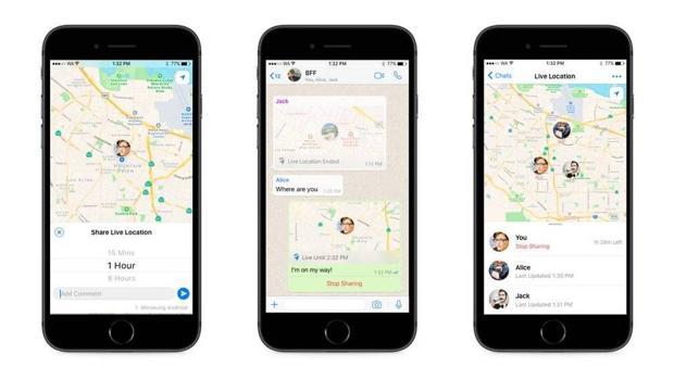 Los posibles peligros de compartir tu ubicación en directo a través de WhatsApp
