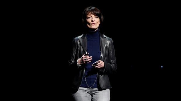 Regina Dugan, durante una intervención pública