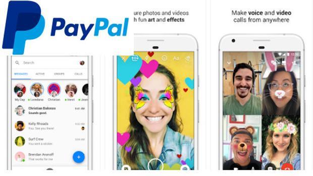 Facebook Messenger permite utilizar PayPal