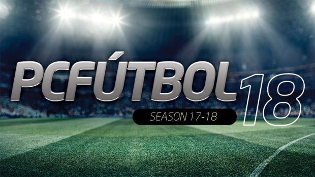 Detalle del anuncio oficial de la llegada del nuevo «PC Fútbol 2018»