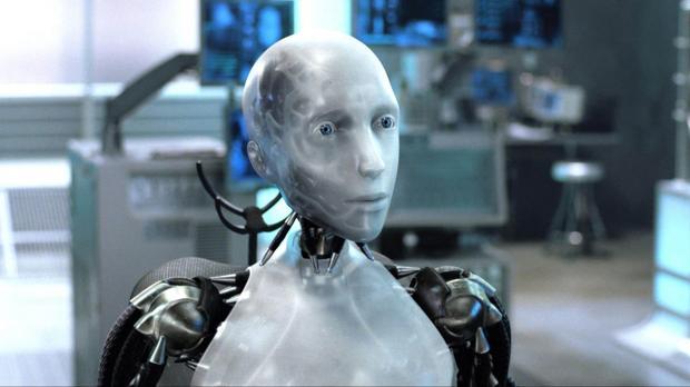 Secuencia de la película «Yo, robot»