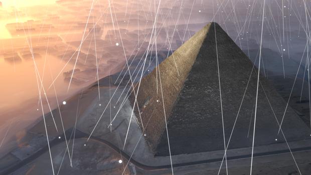 No se descubría ninguna estructura de importancia en la pirámide de Keops desde la Edad Media