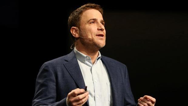 Stewart Butterfield, fundador de Slack, durante una intervención