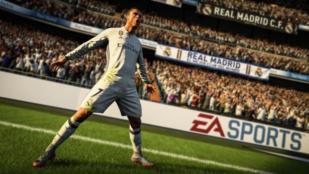 Una secuencia de la versión de este año del FIFA