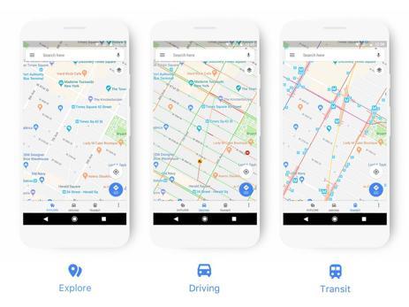 La actualización de Google Maps estará disponible en unas semanas