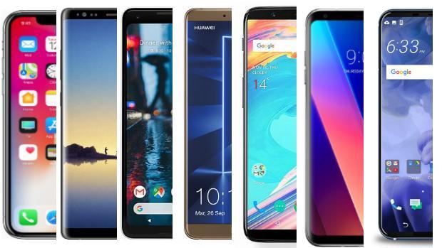 Del iPhone X al Galaxy Note 8: los mejores «smartphones» de 2017