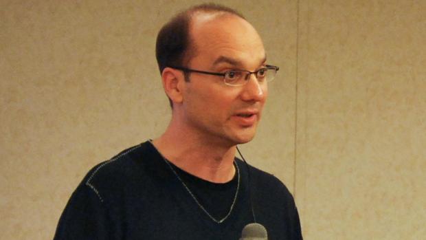 Andy Rubin en una conferencia en 2008